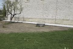 Abdichtung Lüftungskanal - Am Ende der Baumaßnahme wurde die Oberfläche wieder hergestellt.